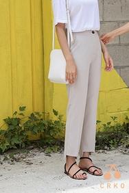 cherrykoko-韩国时尚宽松魅力韩国代购长裤女装2017年07月31日夏季款