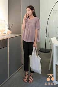 cherrykoko-韩国时尚流行魅力韩国代购正品衬衫女装2017年08月07日08月款