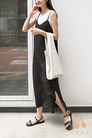 cherrykoko-韩国时尚独特韩国代购吊带韩国代购正品连衣裙女装2017年08月07日08月款