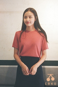 cherrykoko-韩国时尚日常圆领韩国代购毛衣针织衫女装2017年08月07日08月款