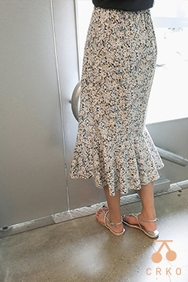 cherrykoko-韩国时尚独特图案韩国代购长裙女装2017年08月09日08月款