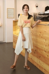 cherrykoko-韩国时尚独特魅力韩国代购中裙女装2017年08月14日08月款