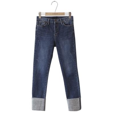 CRKO-魅力休闲舒适牛仔裤