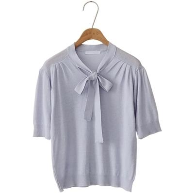 1区韩国本土服装代购(韩国圆通直发)CRKO-高档时尚魅力针织衫(2018-07-11上架)