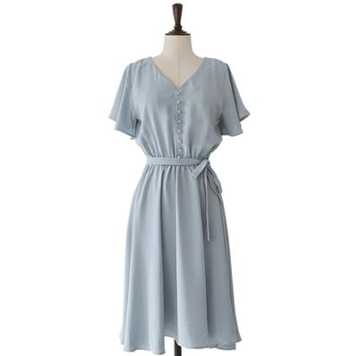 1区韩国本土服装代购(韩国圆通直发)CRKO-连衣裙(2018-07-14上架)
