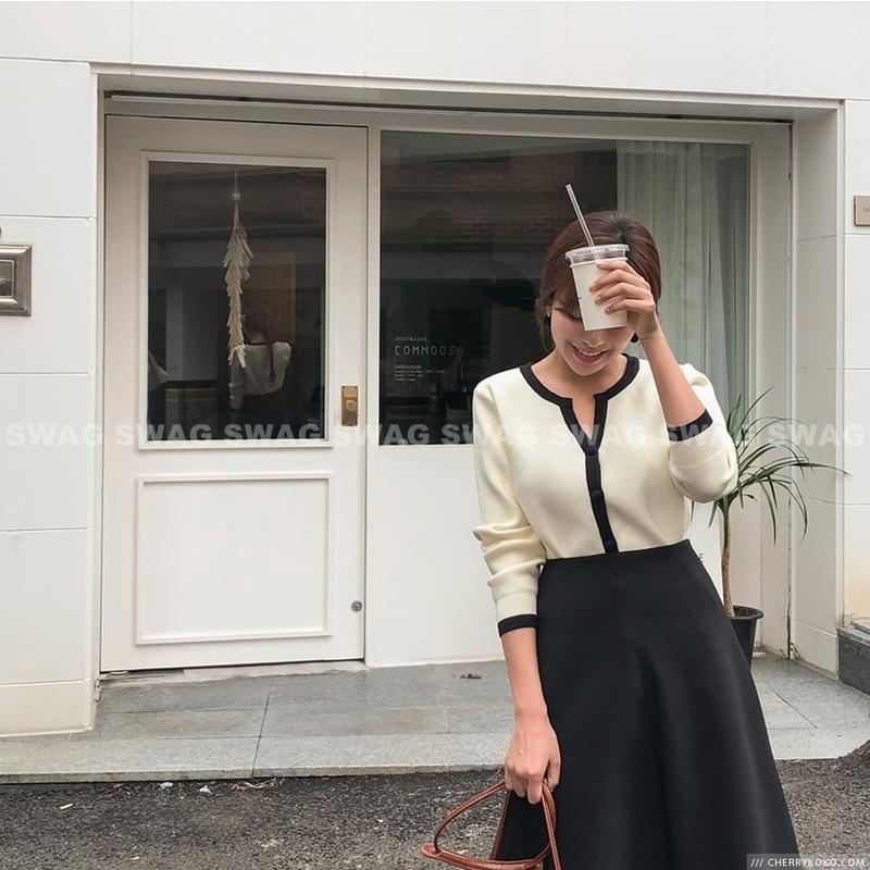 1区韩国本土服装代购(韩国圆通直发)CRKO-中裙(2018-09-19上架)