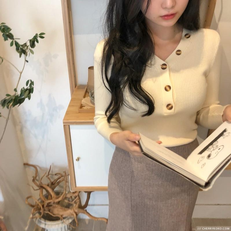 1区韩国本土服装代购(韩国圆通直发)CRKO-长裙(2018-09-24上架)