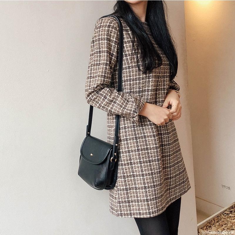 1区韩国本土服装代购(韩国圆通直发)CRKO-连衣裙(2018-09-24上架)