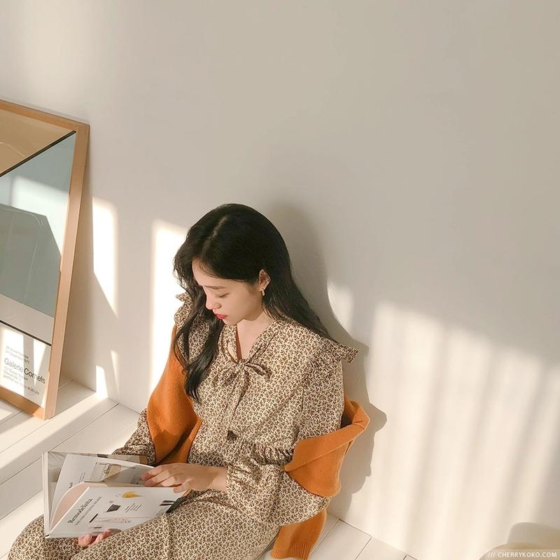 1区韩国本土服装代购(韩国圆通直发)CRKO-连衣裙(2018-11-16上架)