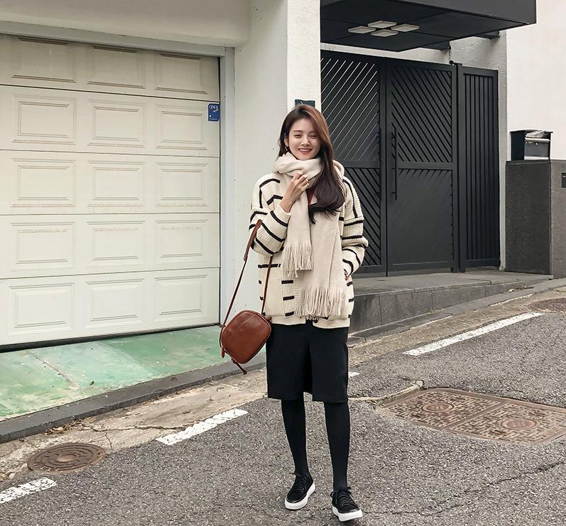 1区韩国本土服装代购(韩国圆通直发)CRKO-开襟衫(2018-11-16上架)