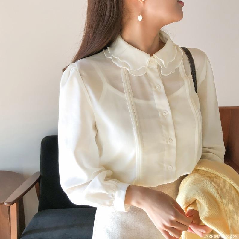 1区韩国本土服装代购(韩国圆通直发)CRKO-衬衫(2018-11-20上架)