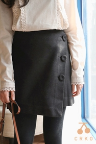 2018新款韩国服装CRKO品牌时尚流行魅力短裙(2018.1月)