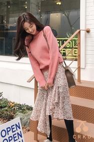 2018新款韩国服装CRKO品牌时尚流行魅力针织衫(2018.1月)