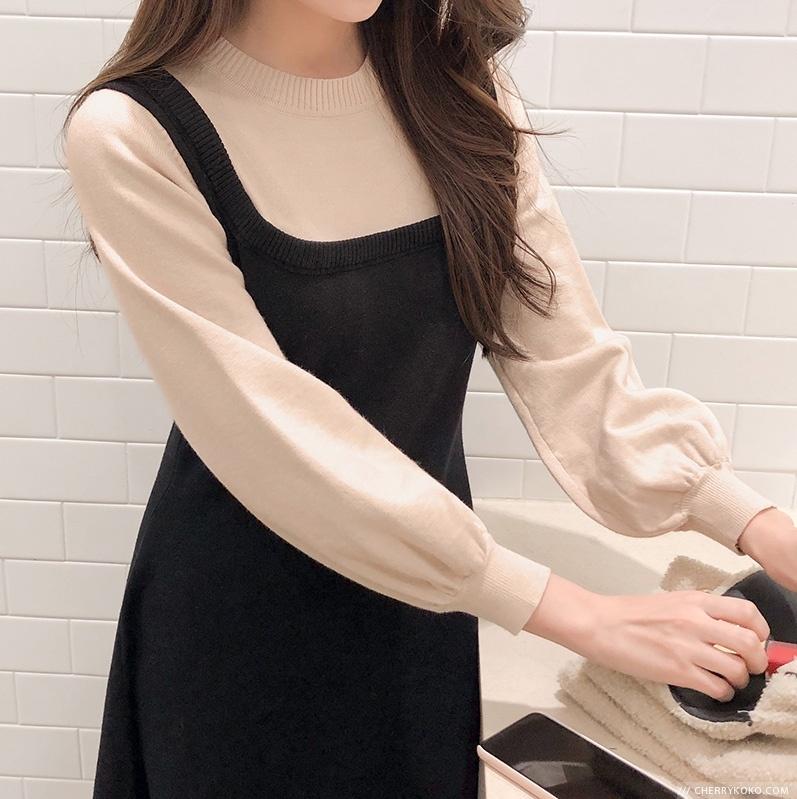 1区韩国本土服装代购(韩国圆通直发)CRKO-连衣裙(2019-01-14上架)