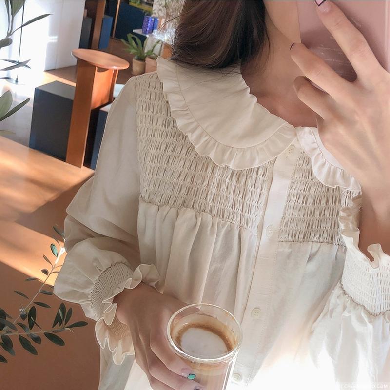 1区韩国本土服装代购(韩国圆通直发)CRKO-衬衫(2019-01-12上架)