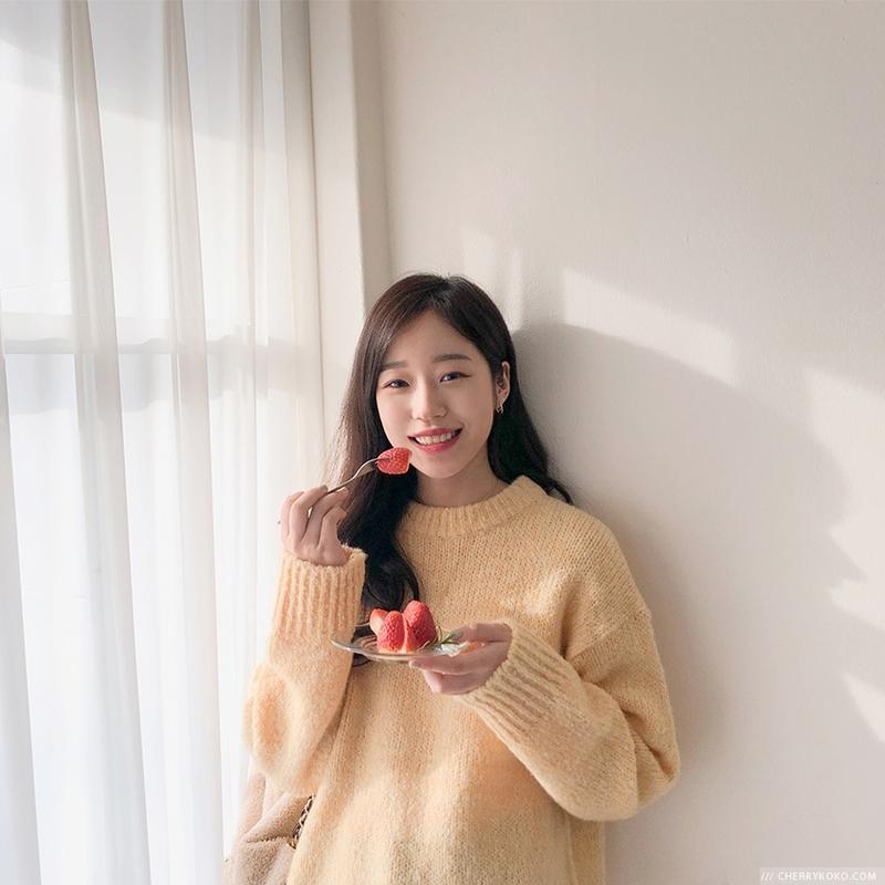 1区韩国本土服装代购(韩国圆通直发)CRKO-针织衫(2019-01-15上架)