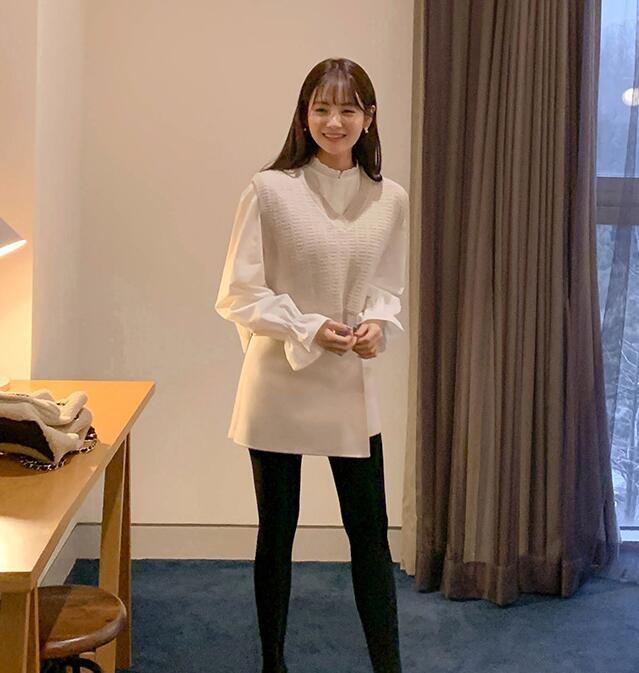 1区韩国本土服装代购(韩国圆通直发)CRKO-马甲(2019-01-16上架)