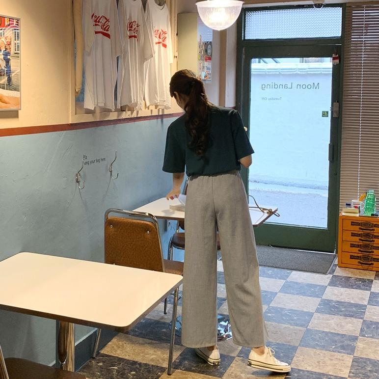1区韩国本土服装代购(韩国圆通直发)CRKO-长裤(2019-03-17上架)