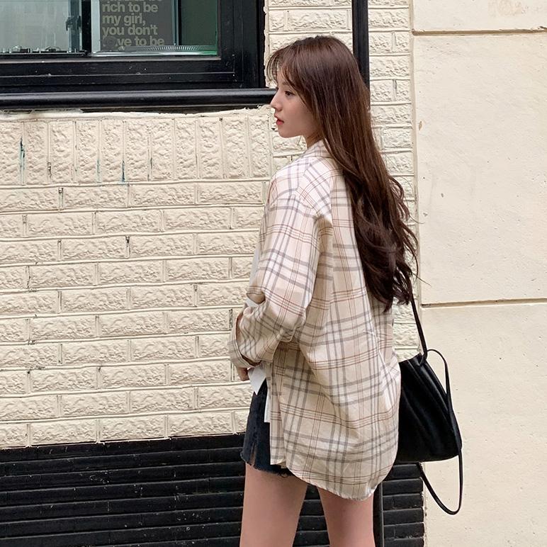 1区韩国本土服装代购(韩国圆通直发)CRKO-衬衫(2019-03-17上架)