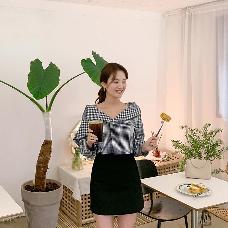 1区韩国本土服装代购(韩国圆通直发)CRKO-衬衫(2019-03-19上架)