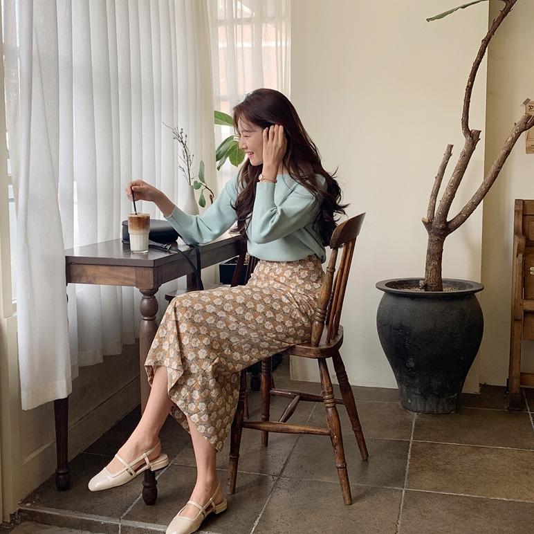 1区韩国本土服装代购(韩国圆通直发)CRKO-长裙(2019-03-20上架)