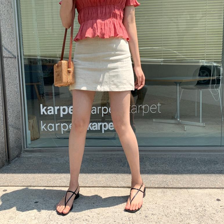 1区100%正宗韩国官网代购(韩国直发包国际运费)CRKO-短裙(2019-06-26上架)