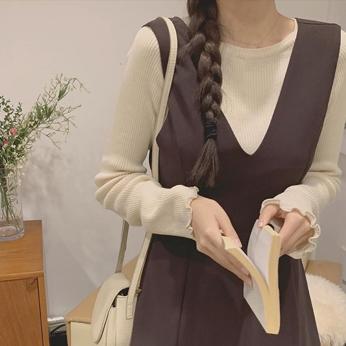 1区100%正宗韩国官网代购(韩国直发包国际运费)CRKO-针织衫(2021-03-24上架)