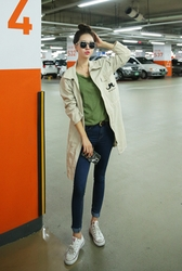 1区韩国代购正品验证cherryville-CVCT00756102-休闲魅力韩版新款大衣