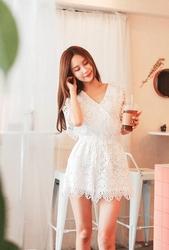 cherryville-韩国韩版女性魅力流行韩国女装代购网站连体裤女装2017年07月26日夏季款