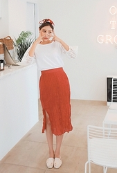 cherryville-韩国纯色时尚魅力韩国代购长裙女装2017年08月09日08月款