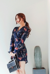 cherryville-韩国搭配魅力女性优雅韩国女装代购网站连体裤女装2017年08月09日08月款