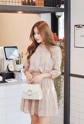 cherryville-韩国优雅魅力个性流行韩国代购正品连衣裙女装2017年08月10日08月款