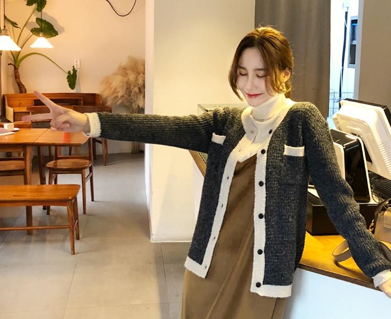 1区韩国本土服装代购(韩国圆通直发)cherryville-开襟衫(2018-11-20上架)