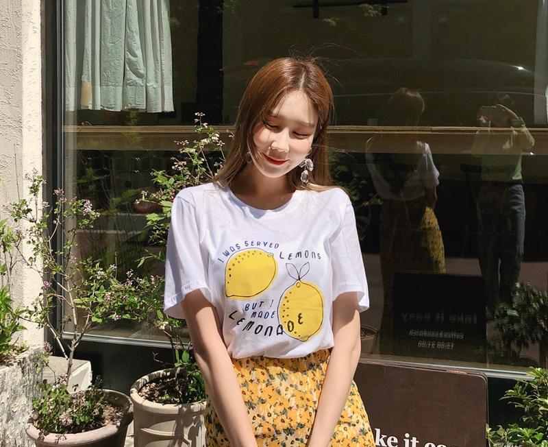 1区韩国本土服装代购(韩国圆通直发)cherryville-T恤(2019-05-12上架)