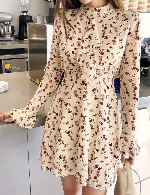 1區100%正宗韓國官網代購(韓國直發包國際運費)cherryville-連衣裙(2019-08-09上架)