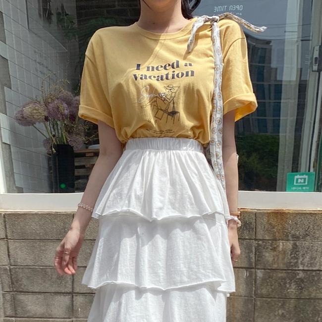 1区100%正宗韩国官网代购(韩国直发包国际运费)cherryville-T恤(2020-05-25上架)