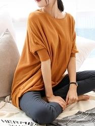1区韩国代购正品验证chichera-CRKN00755830-宽松简单舒适新款百搭针织衫