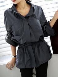 1区韩国代购正品验证chichera-CRJK00766348-简单魅力新款百搭时尚夹克