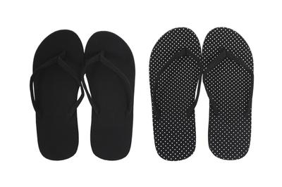1区韩国本土服装代购(韩国圆通直发)choper-人字简约韩版拖鞋(2018-04-19上架)