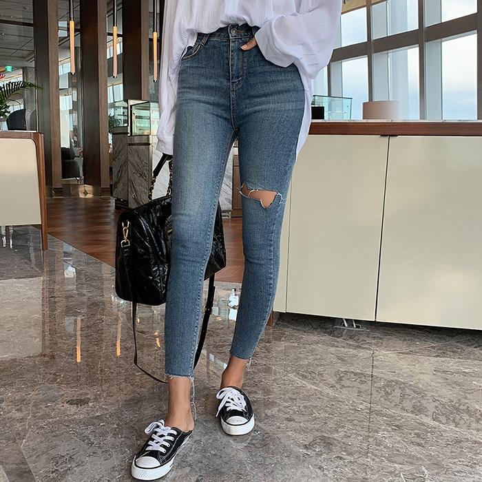 1区100%正宗韩国官网代购(韩国直发包国际运费)choper-牛仔裤(2019-08-19上架)