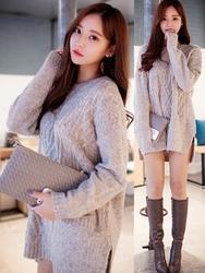 1区韩国代购正品验证chuu-UUOP00782853-韩版魅力时尚新款连衣裙