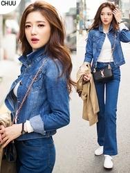 1区韩国代购正品验证chuu-UUJK00784968-魅力时尚韩版新款夹克