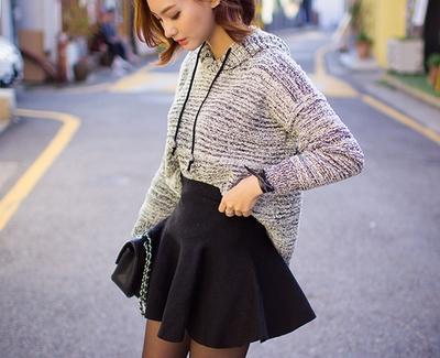 츄-그땐 사실 skirt