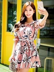 1区韩国代购货源|韩国官网正品chuu-UUOP00872872-淑女魅力韩版新款连衣裙