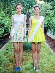 1区韩国代购货源|韩国官网正品chuu-UUOP00900356-方领纯色无袖连衣裙
