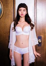 1区韩国服装网店代理一件代发chuu-UUNY00919062-淑女纯色性感韩版内衣套装