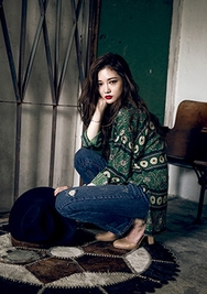 1区韩国服装网店代理一件代发chuu-UUBL00926759-淑女半开领单排扣韩版衬衫