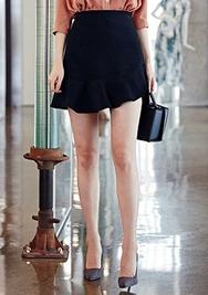 1区韩装网2016韩国服装|韩国代购服装一件代发货源chuu官网韩国浪漫荷叶边淑女短裙(2016.8)
