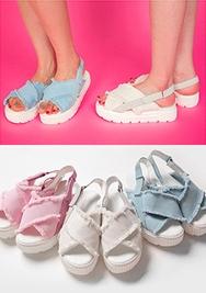 chuu-韩国轻便高档舒适平底鞋女装2017年07月26日夏季款