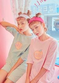 chuu-韩国舒适轻便休闲套装女装2017年07月26日夏季款